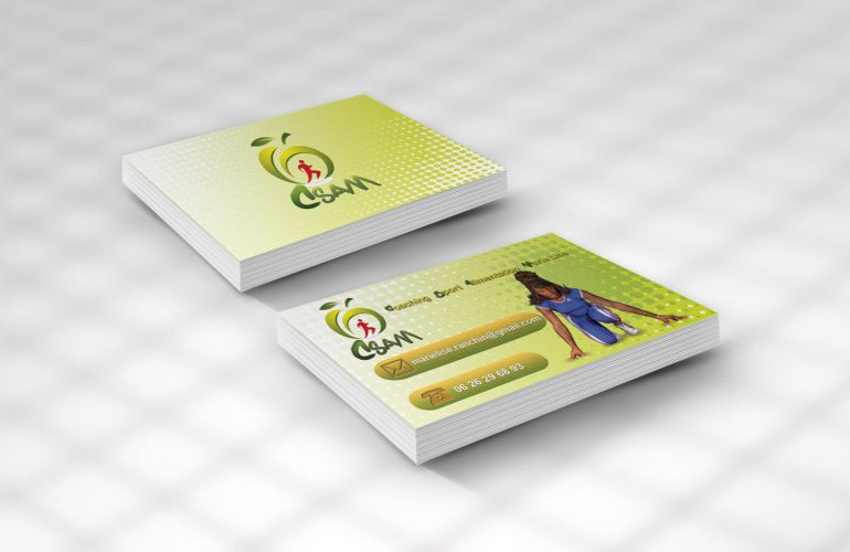 creation carte de visite coach sport nice